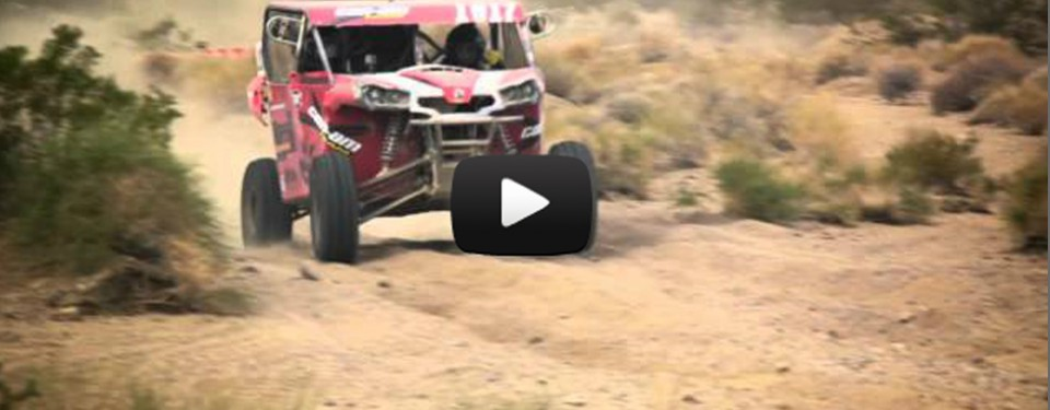 Can-Am Commander SXS's 1 & 2 at 2012 Mint 400
