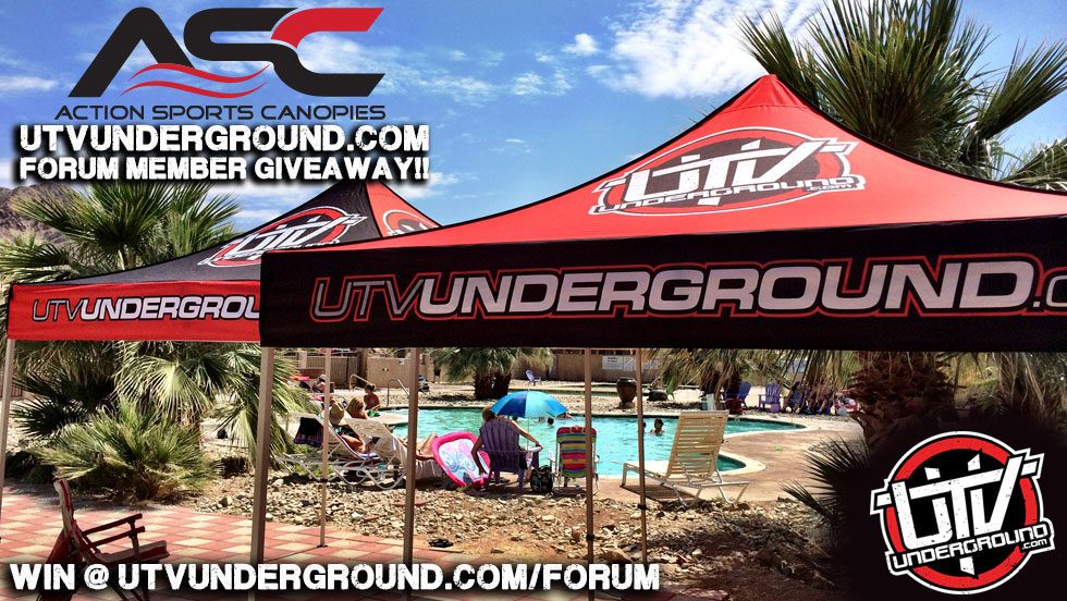 UTVUnderground Action Sports Canopy FORUM MEMBER GIVEAWAY!! & UTVUnderground Action Sports Canopy FORUM MEMBER GIVEAWAY ...