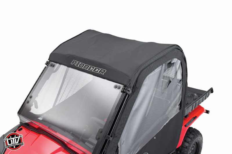 electric panel door cover with New 2015 Honda Pioneer 500 14635 on Watch further 20 X 22 Carport Portable Garage further 50 Years Dodge Charger 1968 also 91687 further Trim Levels Options.