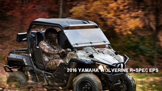 2016 Yamaha Wolverine
