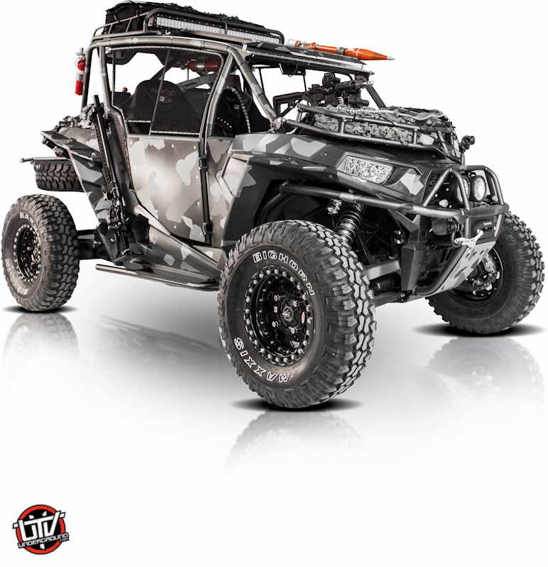 Blacked Out Rzr >> Feature Vehicle: HMF Survival RZR | UTVUnderground.Com - The #1 Resource for SXS Enthusiasts