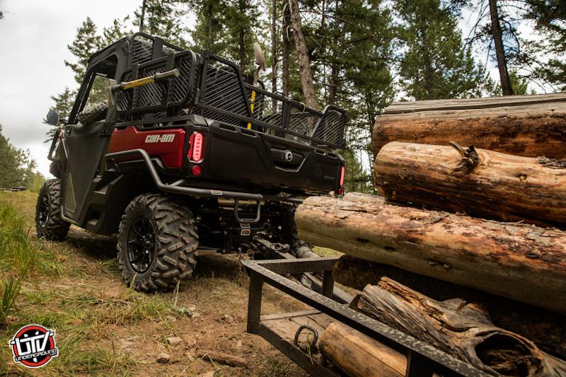 Defender XT Intense red - towing wood 2-utvunderground