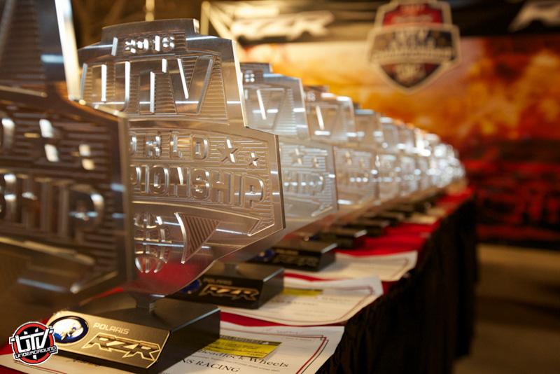 2016 UTV World Championship Awards