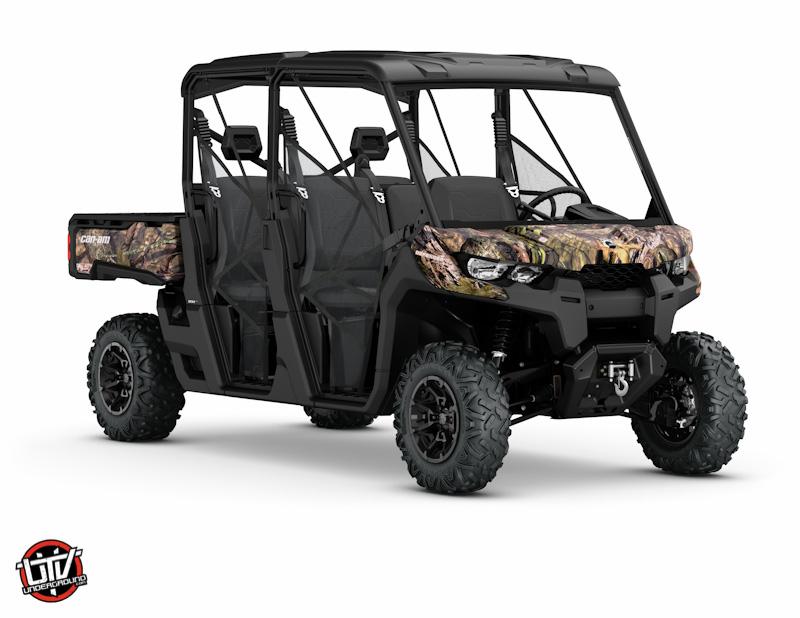 2017 Defender MAX XT HD8 Mossy Oak Break-Up country Camo__3-4 front-utvunderground.com