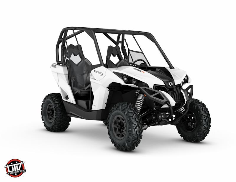 2017 Maverick xc DPS 1000R White_3-4 front-utvunderground.com