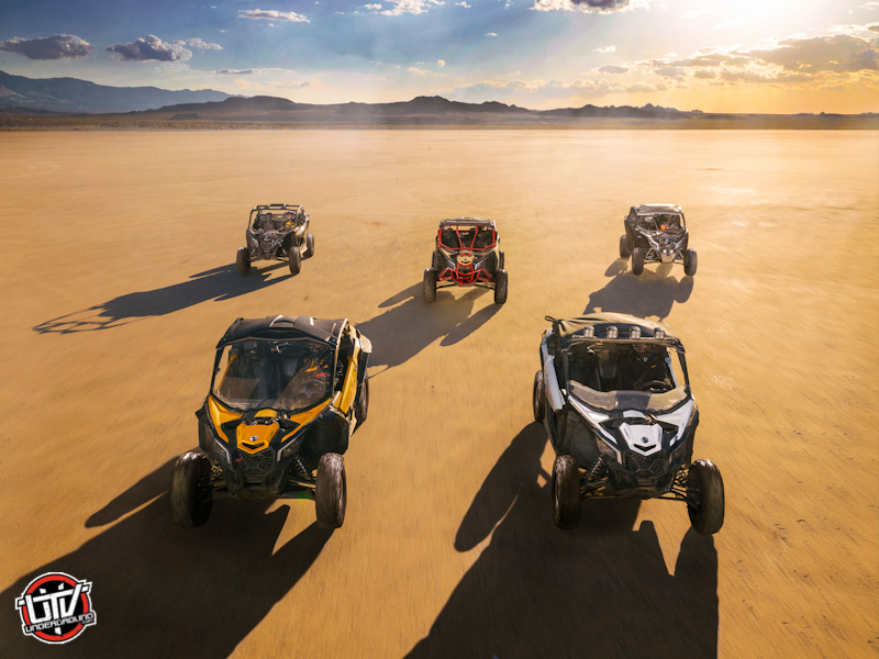 2017-can-am-Maverick X3 - Family shot-utvunderground.com