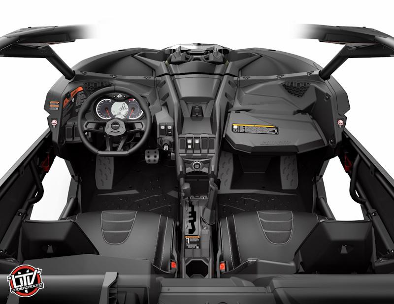 2017_Maverick X3 X ds_Cockpit-utvunderground.com