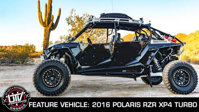 Feature Vehicle John Melvin S 2016 Polaris Rzr Xp4 Turbo