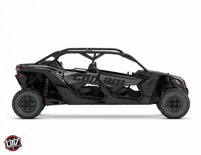 2017 Maverick X3 MAX X ds TURBO R Black_3-4 side right-utvunderground.com