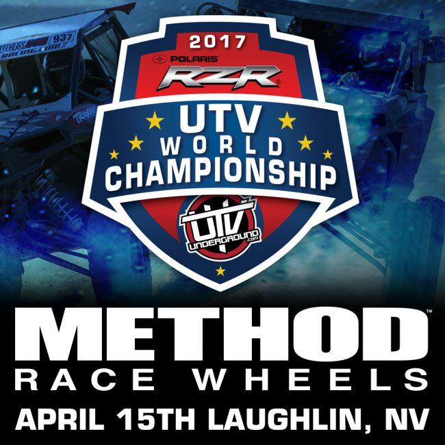 2017 UTVWC Method Race Wheels