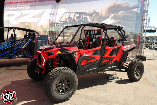 2019 Polaris RZR Turbo S 4 Seater at the 2018 Sand Sports Super Show60