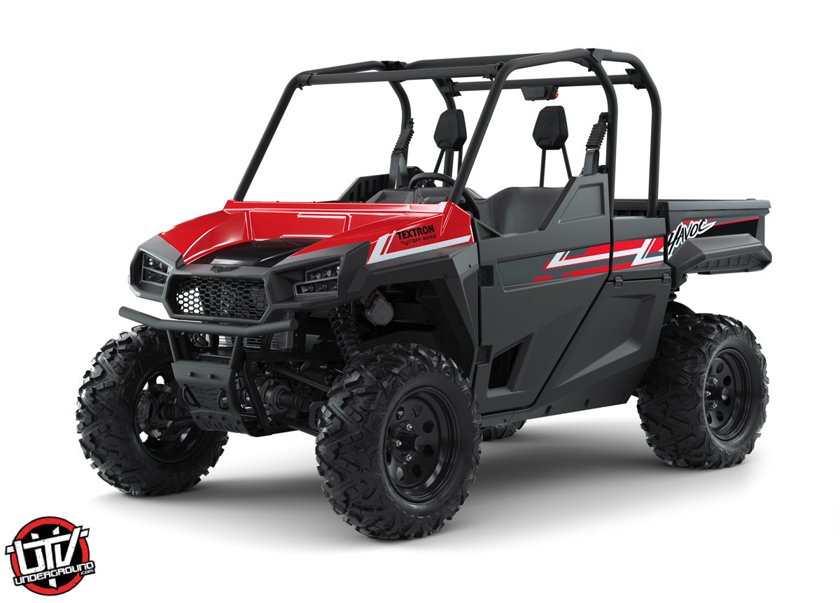 2019 Textron Off Road Havoc Fire Red