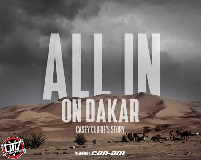 Can-Am Goes ALL IN With Elite MaverickX3 Side-by-Side vehicle Teams at 2019 Dakar Rally