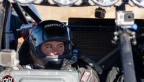 Jagged X Racing co-driver Miles Martin at 2018 Baja 1000