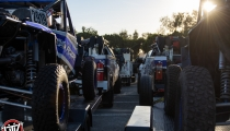 Jagged X Racing Pit Trucks at 2018 Baja 1000