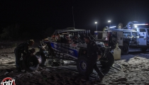 Jagged X Racing Driver Change at Race Mile 270 of the 2018 Baja 1000
