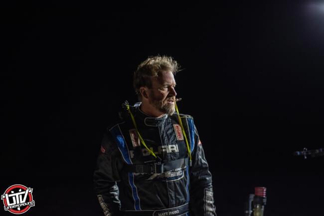 Jagged X Racing driver Matt Parks after battling 270 miles of the 2018 Baja 1000