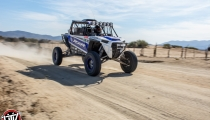 Jagged X Racing going through Ojos Negros, Baja California, Mexico at 2018 Baja 1000