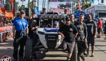 Jagged X Racing Team at 2018 Baja 1000 Finish