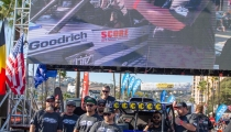Jagged X Racing on contingency row at 2018 Baja 1000