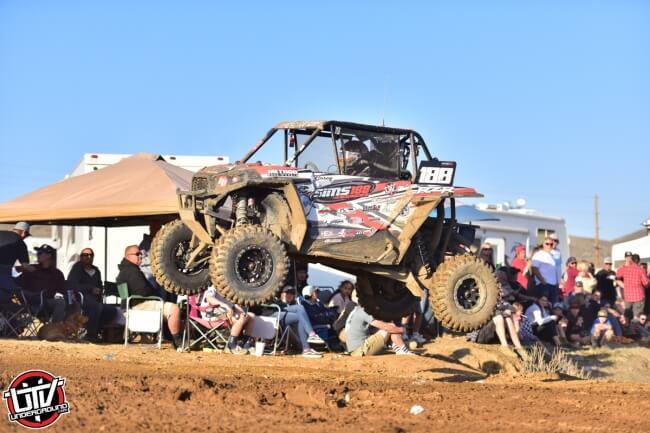 Racing at the 50th Lake Elsinore Grand Prix