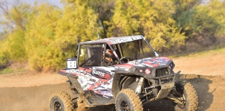 Racing at the 50th Lake Elsinore Grand Prix