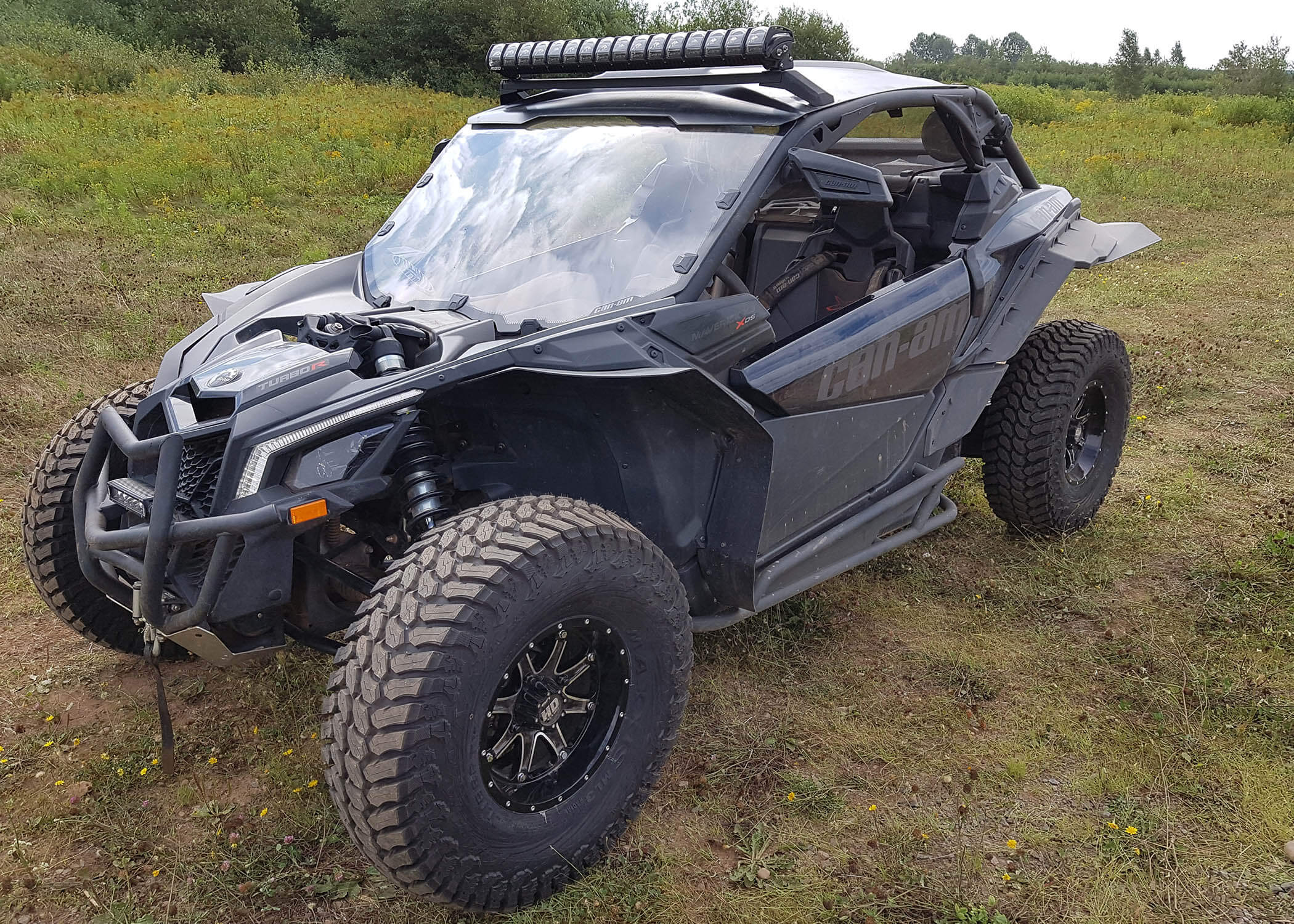 "New kit for 2017-19 Can Am Maverick X3 Turbo ""R"""