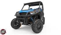 2019 Polaris GENERAL 1000 Eps Deluxe Titanium Matte Metallic