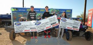 Polaris Rzr® Racing Sweeps Pro Stock Podium At Worcs, Kicks Off Lucas Oil Off Road Series
