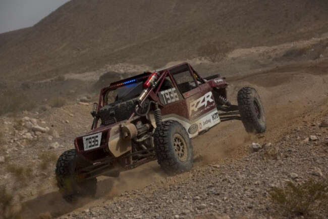 Justin Lambert scored another solid top-10 finish at the prestigious Mint 400 off-road race.