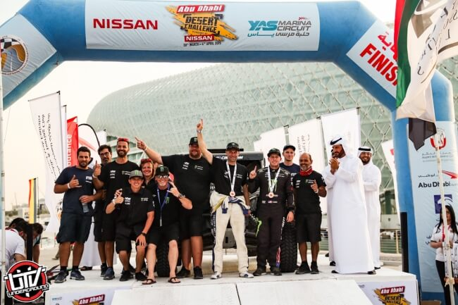 MONSTER ENERGY CAN-AM'S CURRIE AND VARELA DOMINATE T3 CATEGORY IN ABU DHABI; FINISH FOURTH AND FIFTH OVERALL
