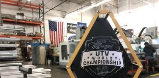 Assault Industries 1st Place UTV World Championship Trophy