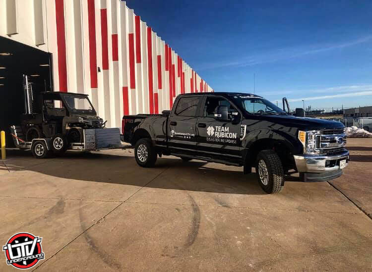 Polaris Supports Team Rubicon's Flooding Relief Efforts Following Winter Storm Ulmer