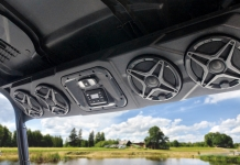 SSV Works Announces New Overhead Powered Stereo System for Select Polaris Ranger & Can-Am Defender Models