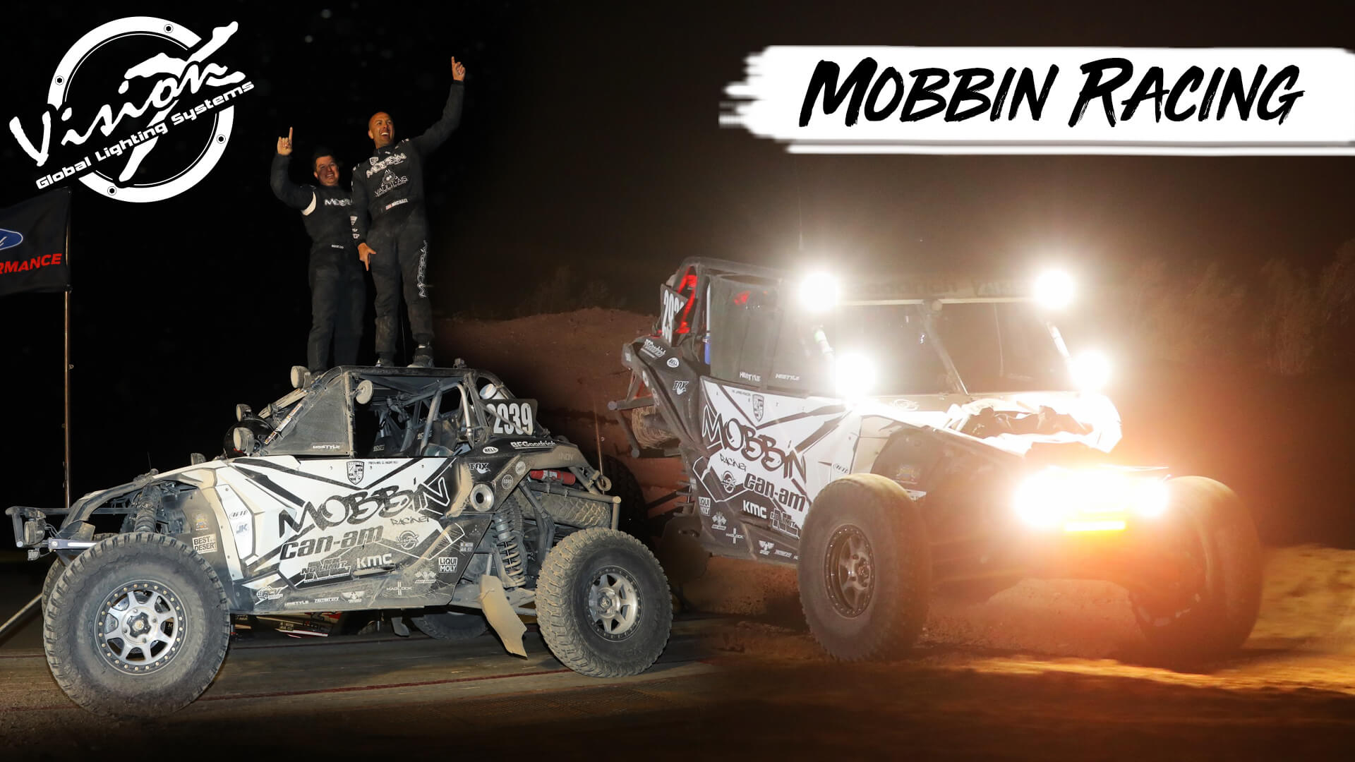 Mobbin Racing Secures UTV Championship with Vision X Lighting