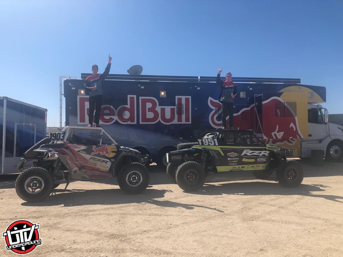 Polaris Rzr® Factory Racing Triumphs At Laughlin Desert Classic