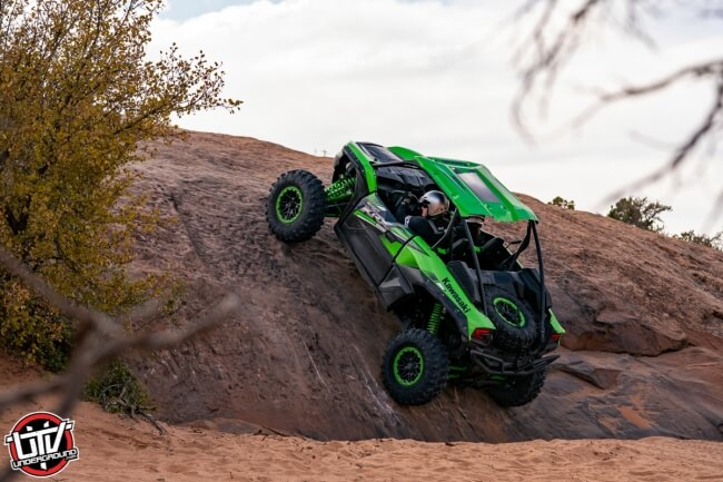Tackling Moab with the 2020 Kawasaki Teryx KRX 1000