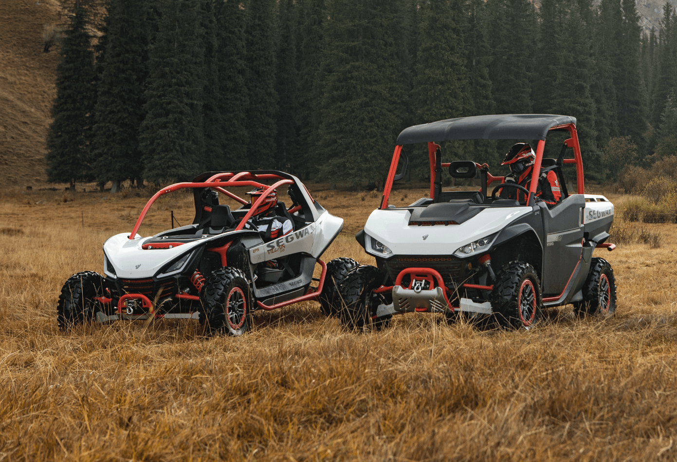 2020 Segway UTV Side by Side Product Line featuring Segway Villain and Segway Fugleman