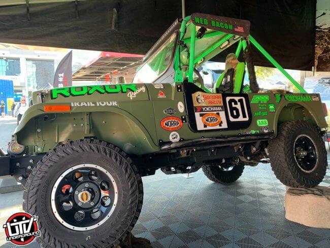 ROXOR NORRA Mexican 1000 racer Ned Bacon