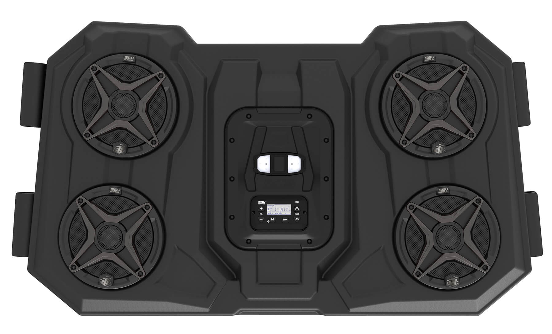 The WP3-RZ3O65 Allows You to Listen to Your Music Via Bluetooth®, AM/FM, or Aux-In Through Four 6.5-Inch Powersports Speakers While Pumping Out 200 Watts of Internal Power