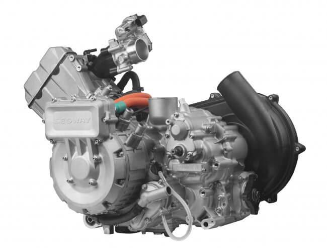 Segway 570cc Fugleman Hybrid Engine