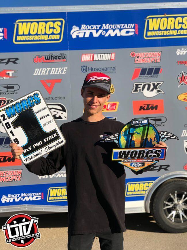 WORCS Pro Stock Class Champion Corbin Leaverton