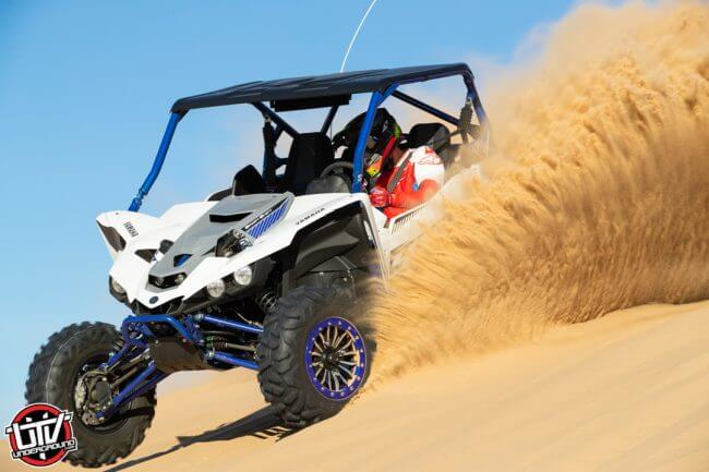 The YXZ1000R handles like no other UTV on the market – it is a blast to drive hard and shift gears, too!
