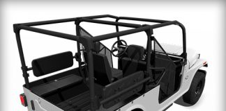 Roxor Side Facing Rear Seats