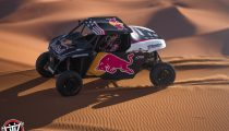 Nasser Al-Attiyah and Matthieu Baumel perform with the OT3 by Overdive in Erfoud , Morocco on October 3, 2019 // Flavien Duhamel/Red Bull Content Pool // AP-22EBTEYK51W11 // Usage for editorial use only //