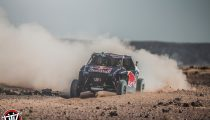 Nasser Al-Attiyah and Matthieu Baumel perform with the OT3 by Overdive in Erfoud , Morocco on October 2, 2019 // Flavien Duhamel/Red Bull Content Pool // AP-22EBTESW12111 // Usage for editorial use only //