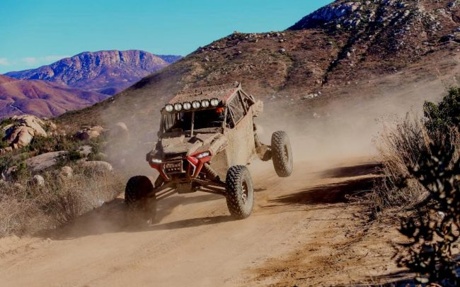 Justin Lambert, Bakersfield, Calif., won the Pro UTV Forced Induction class at the 2019 SCORE Baja 1000 with a total time of 21:00:42.687, which was good for 29th overall in the car/truck/UTV category. (Photo supplied by Cognito Motorsports)