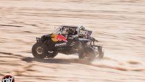 Red Bull Off-Road Junior Team member Seth Quintero drives at Glamis in Brawley, CA