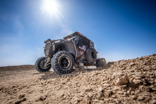 The Polaris Factory Xtreme+ team Dakar 2020