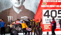 405 Currie Casey (usa), Berriman Sean (usa), Can - Am, Monster Energy Can-Am, SSV, Motul, action during the departure ceremony of the 2020 Dakar in Jeddah, Saudi Arabia on January 4, 2020 - Photo Julien Delfosse / DPPI